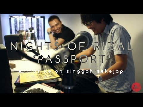 Nights Of Rizal | Passport (live on Singgah Sekejap, Part 1/2)