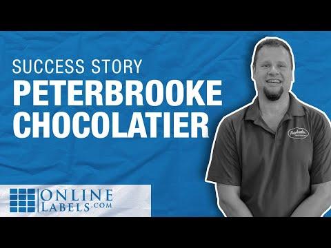 OnlineLabels Customer Creations Peterbrooke Chocolatier