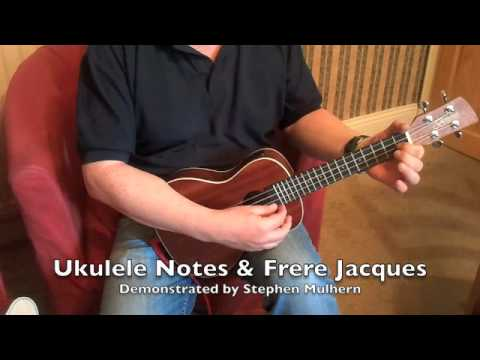 ukulele notes frere youtube. Black Bedroom Furniture Sets. Home Design Ideas