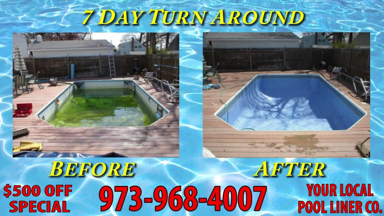 Paterson Nj Inground Swimming Pool Liner Experts We Replace Above Ground And In Ground Pool
