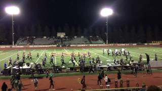 granada hills charter high school highlander band 2016 simi valley spectacular