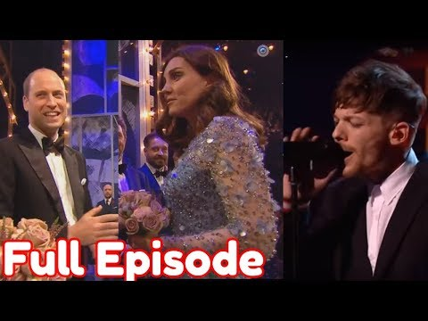 Louis Tomlinson, Paloma Faith The Royal Variety Performance 2017