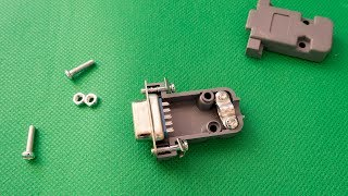 RS232 Serial Port Connector DB9 from Aliexpress