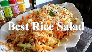 How To Make One Of Best Rice Salad For This Summer  | Chef Ricardo Cooking