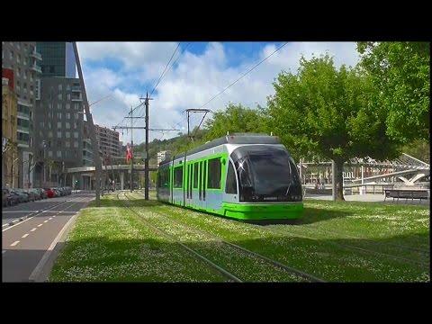 Tranvia de Euskotren en Bilbao