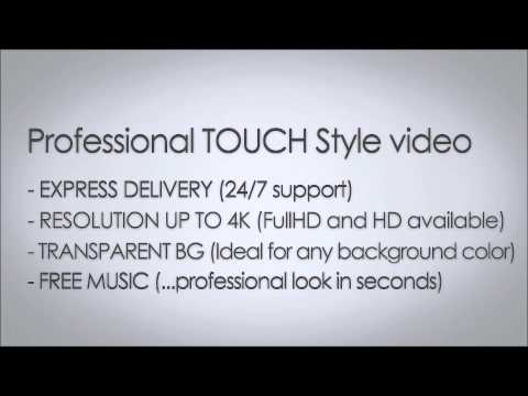 Modern Touch style Advertising Video
