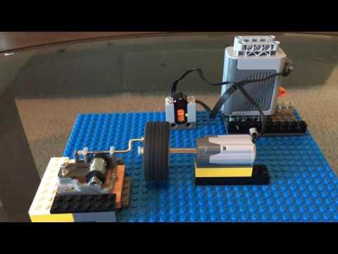 Automate Music box using Lego
