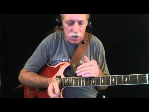 """How To Play """"Chain Of Fools"""" - Guitar Lesson - Red Lasner"""
