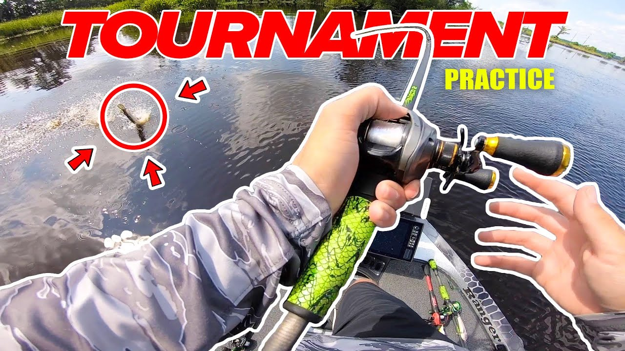 Searching for BIG River Bass (Tournament Fishing Practice)