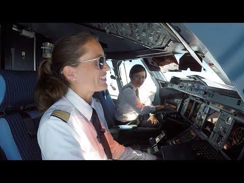 Airbus A380 - Die Doppeldecker-Pilotinnen (Anfang Der Planestream-Doku)
