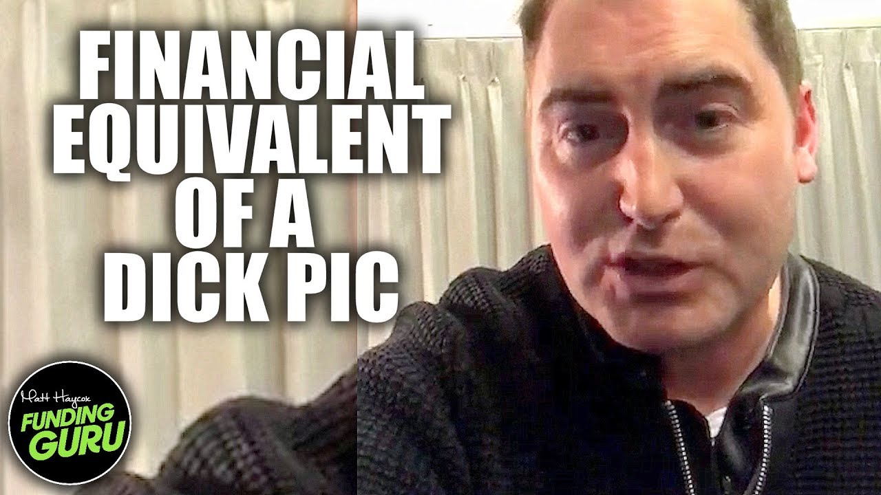 The Financial Equivalent Of A Dick Pic - The WRONG WAY To Find Business  Investors and Finance