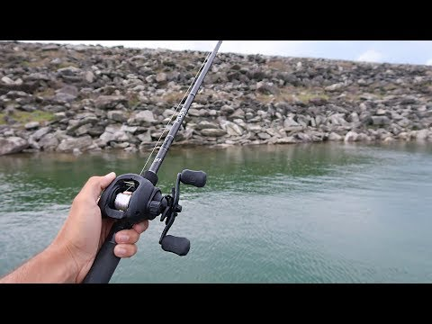 BIG Swimbait gets CRUSHED While Lake Fishing (HUGE Bass)
