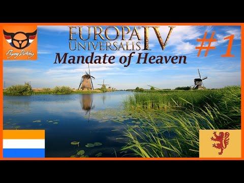 EU4 Mandate of Heaven - Dutch Empire - ep1