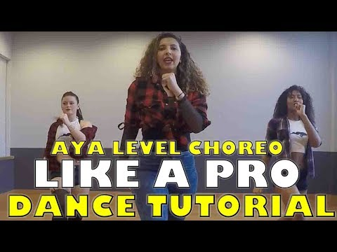 DANCE WITH AYA | TUTORIAL LIKE A PRO | DANCEHALL
