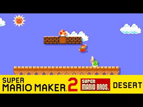 SMB1 Desert Theme - Super Mario Maker 2 Direct Transcription
