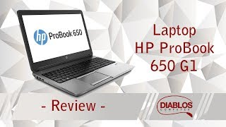 Review HP ProBook 650 G1 - business si productivitate