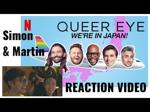 Queer Eye WE'RE IN JAPAN! - Reaction Video