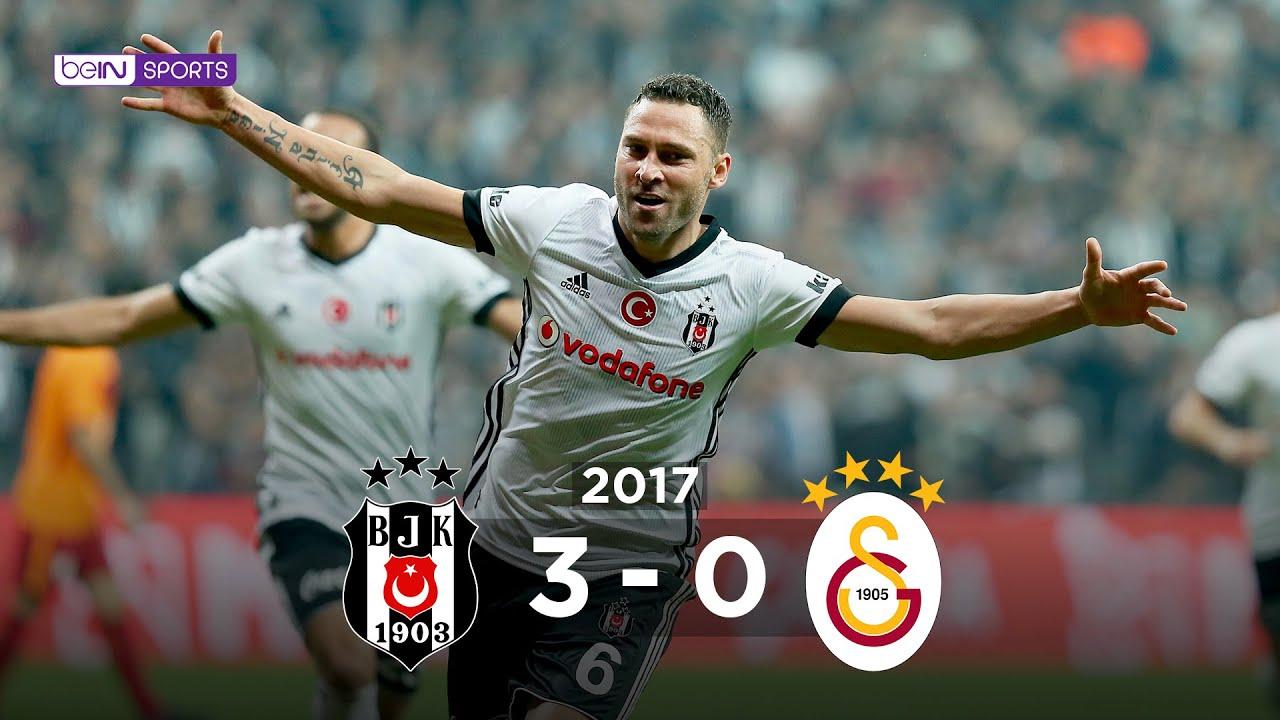 Beşiktaş 3 - 0 Galatasaray - Maç Özeti