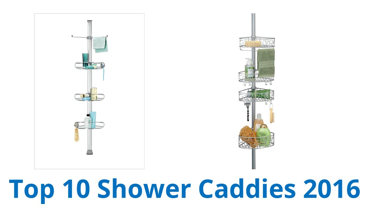 10 Best Shower Caddies 2016 - YouTube