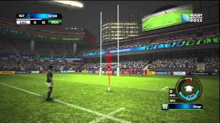 Rugby World Cup 2011 aka Rugby 08 HD Demo Gameplay (PS3)