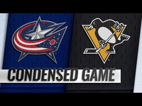 09/22/18 Condensed Game: Blue Jackets @ Penguins
