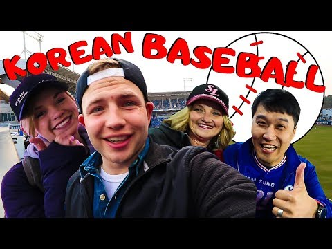 Korean Baseball Is Insanely Fun!   We Got Free Tickets
