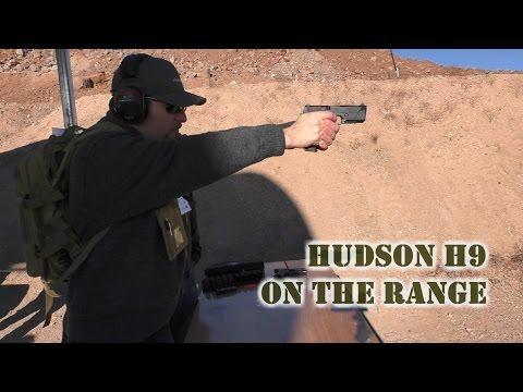 Hudson H9 SHOT Show Range Day 2017