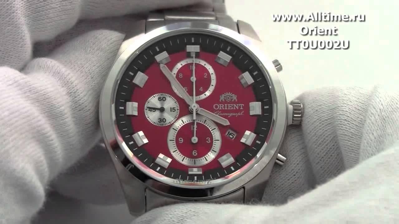 Часы Orient TT0U002H Часы TAG Heuer WAY201D.BA0927