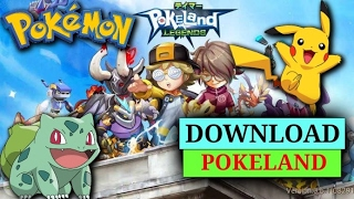 How to download and install Pokeland legends in your Android and IOS 100% working.