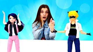 Маринетт узнала кто такой Супер Кот! Куклы Леди Баг в ToyClub. Ищем игрушки с Машей