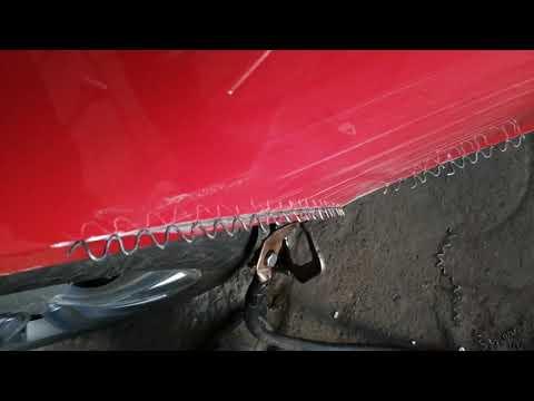 Astra J купе ремонт крыла заднего