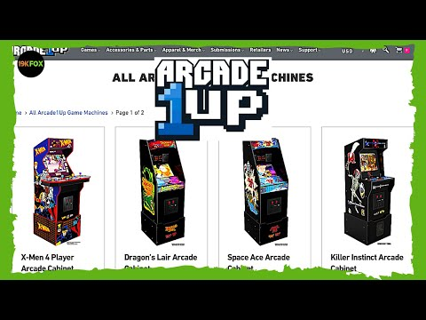 Arcade1up confirms Killer Instinct, X-men 4 player and more! from 19kfox
