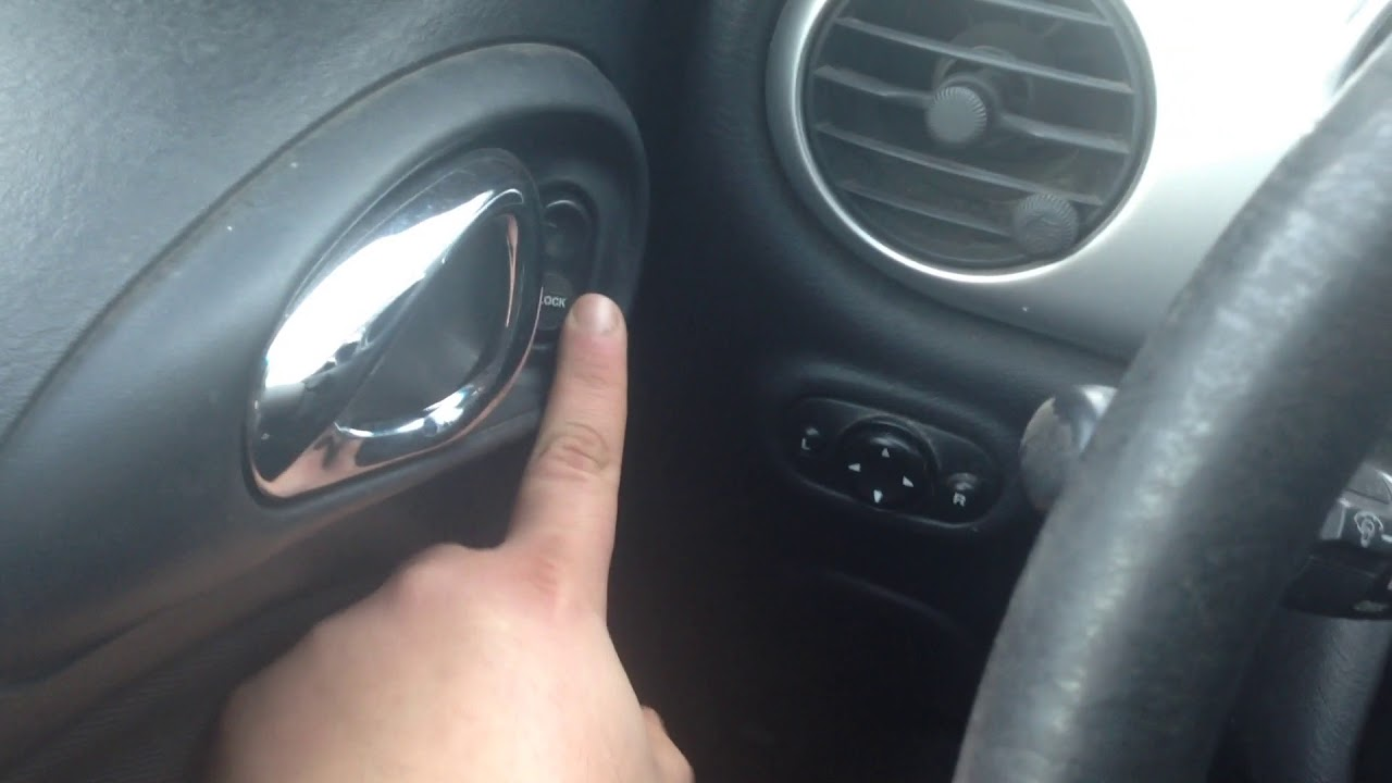 Overriding Automatic Lock In The Pt Cruiser