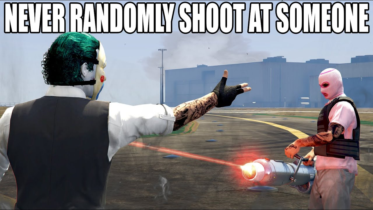 This Is Why You DON'T Randomly Start SHOOTING At Someone