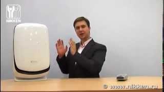видео Увлажнители воздуха с функцией ионизации в Киеве