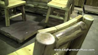 Cedar Lake Cutout Log Dining Chair | Log Chairs At Jhe's Log Furniture Place