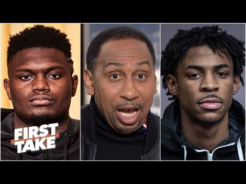 Zion Vs. Ja Morant: Stephen A. Predicts The Rookie Of The Year Winner   First Take