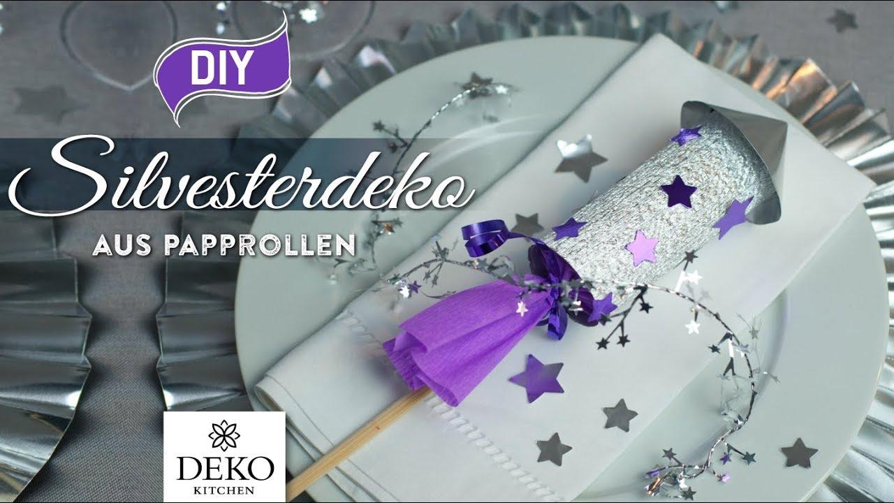 DIY: Lustige Silvesterdeko-Raketen Selbermachen [How To
