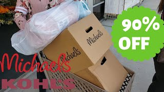 Kohls 90% off clothes! Michael's 90% off Planners & more!