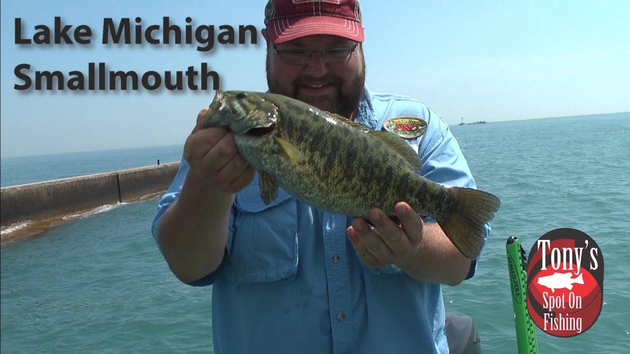 Lake Michigan Smallmouth Bass Youtube