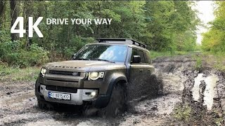 New Defender First Edition Off-Road Test, Review, Moose Test, Trip, and Overlanding.
