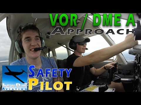 Flying Under the Hood - VOR Approach | Kissimmee (KISM)