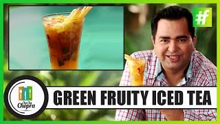 How To Make Fruit Flavored Iced Green Tea