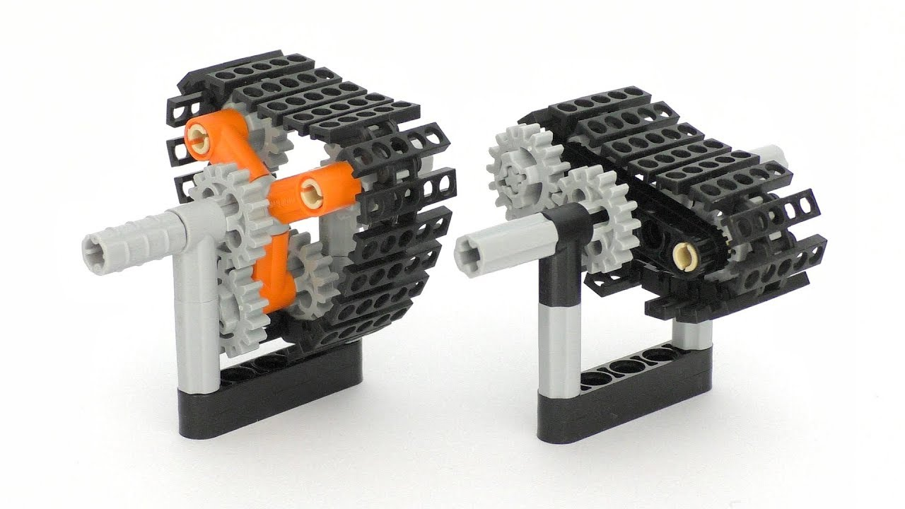 Lego Technic Cyclomorph Mechanisms - Lego Technic Mastery ...