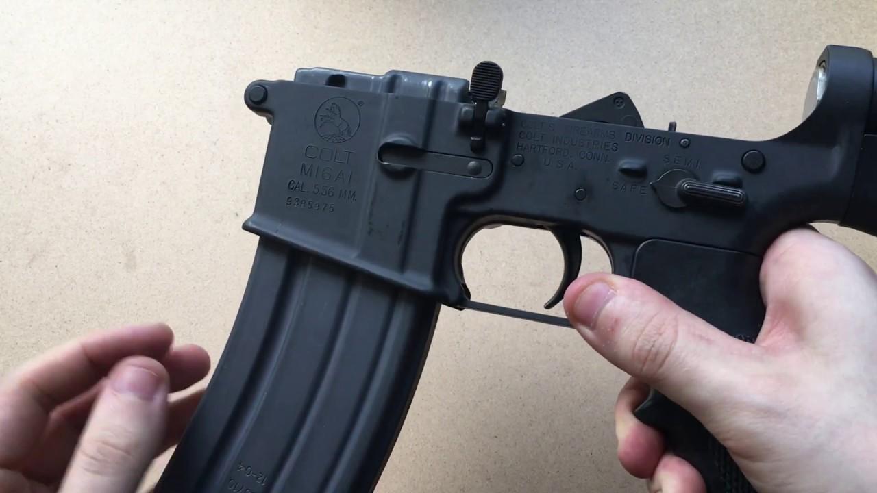 Colt M16 Lower Receiver Full auto