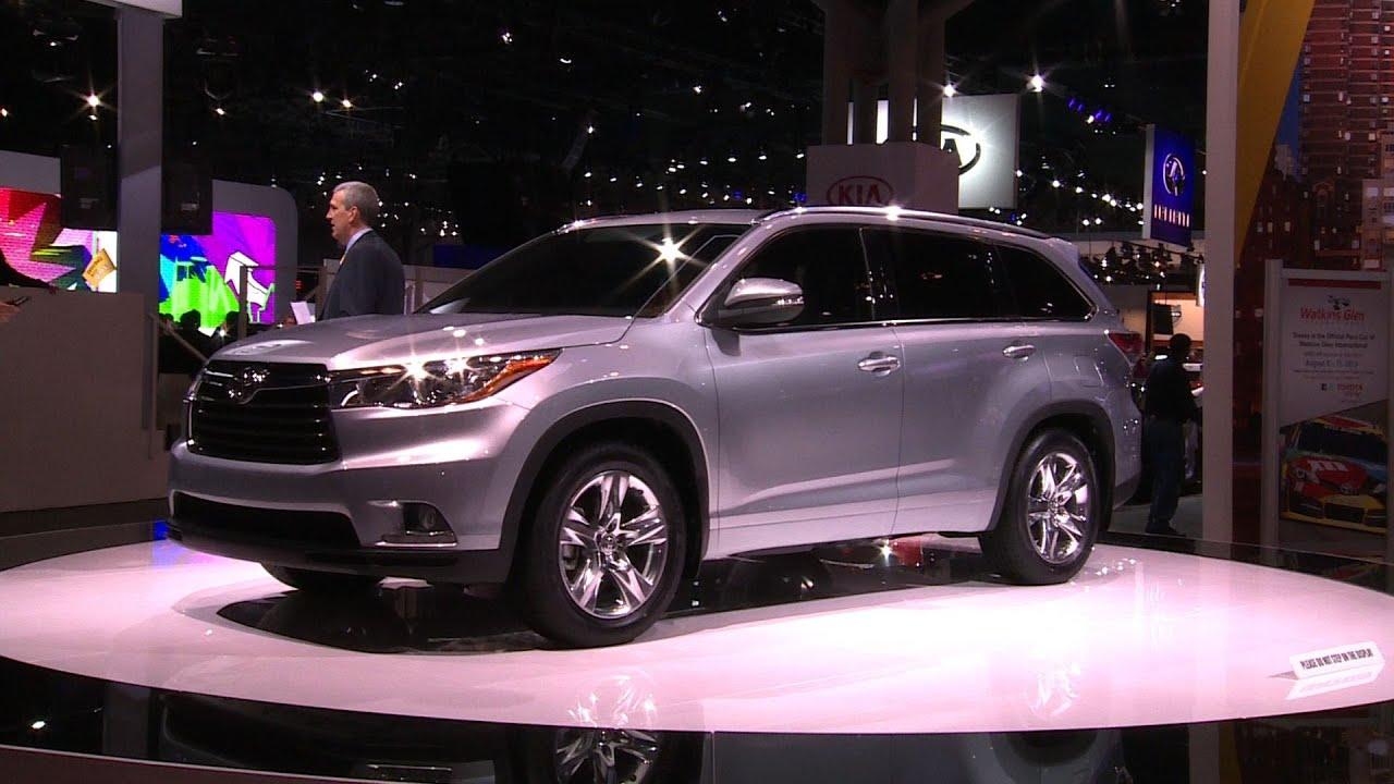 2017 Toyota Highlander At The Ny Auto Show Consumer Reports