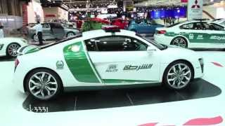 Dubai Police Super Car Force - Dubai Auto Show 2013