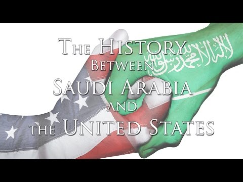 SAPRAC - The History Between Saudi Arabia and the United States