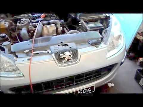 nettoyage vanne EGR, sur 407,C4,2008,3008,C5,C3,307,308.1.6 hdi تنظيف، صمام العادم، على محرك بيجو