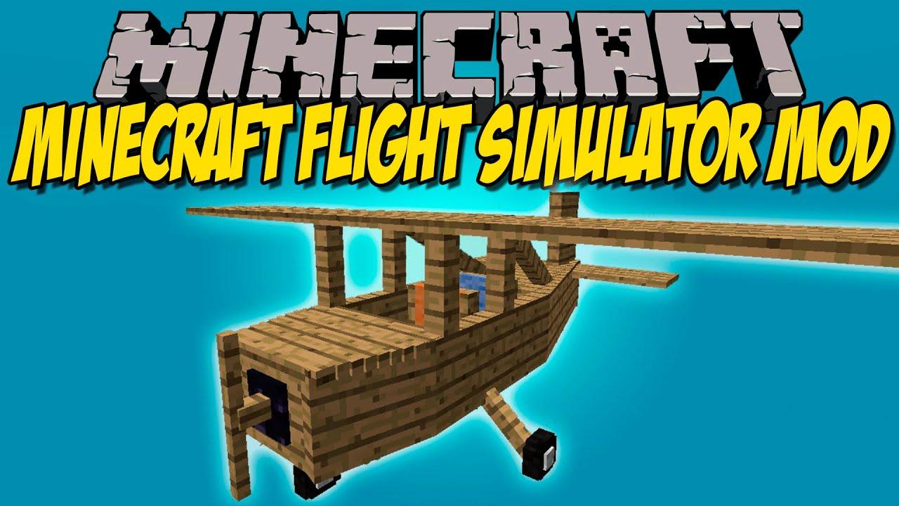 Minecraft Flight Simulator
